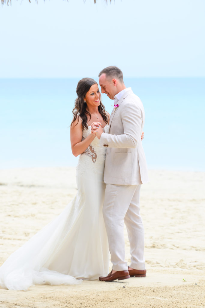 Caitlyn and Tony's destination wedding at Beaches Negril
