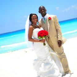 Brandy and James destination wedding